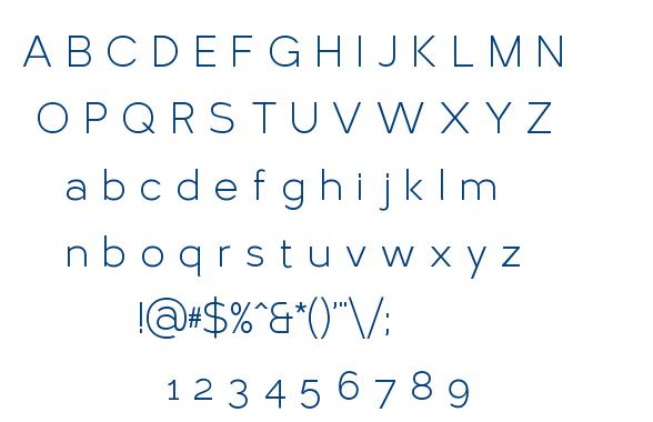 Larke font