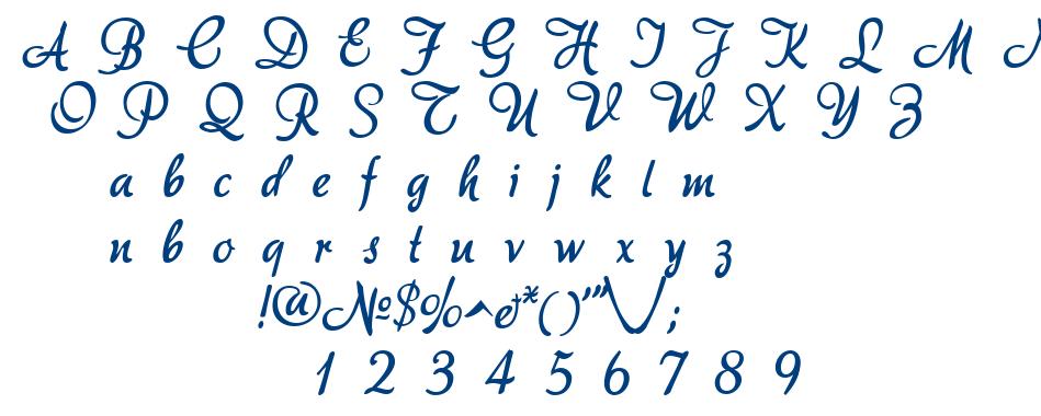 AkaDora font