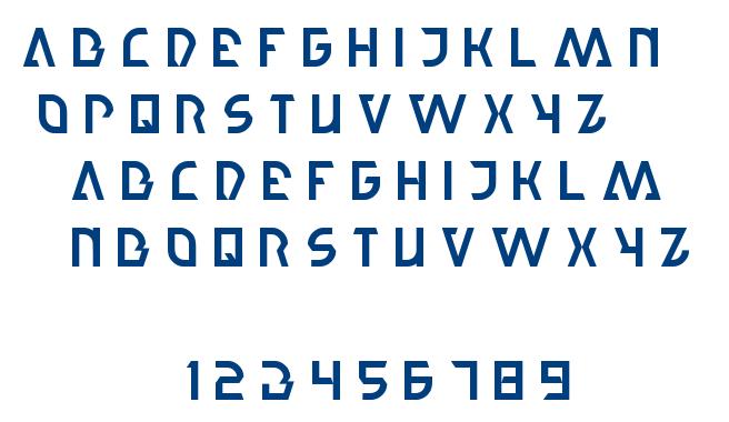 step forward font