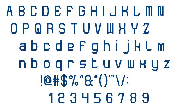 Make Peace font