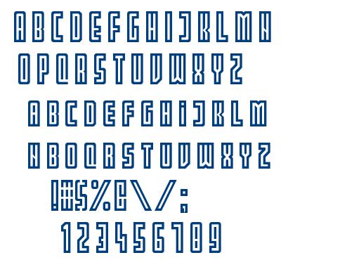 PARTIN font
