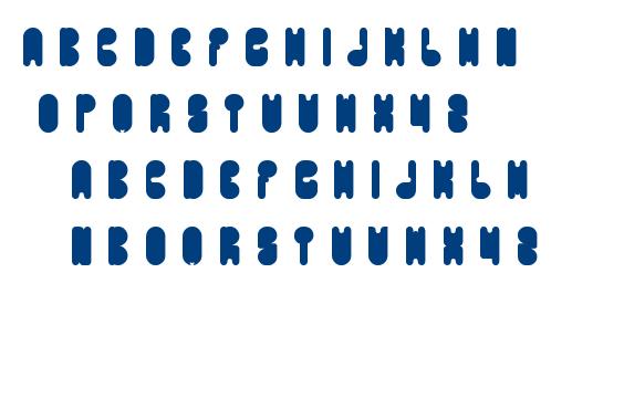 portable font