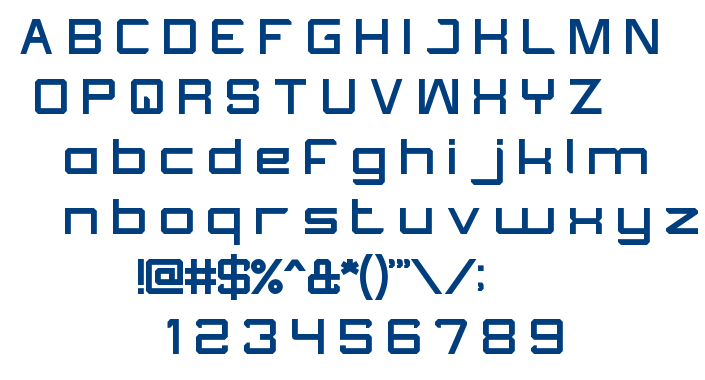 What The FUN font