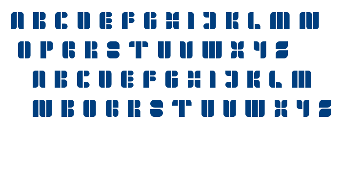 golden bar font