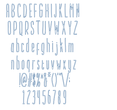 Purbacala font