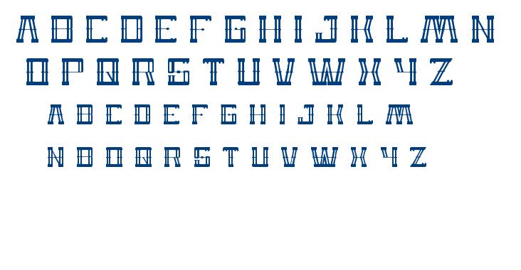 Zeppelin font