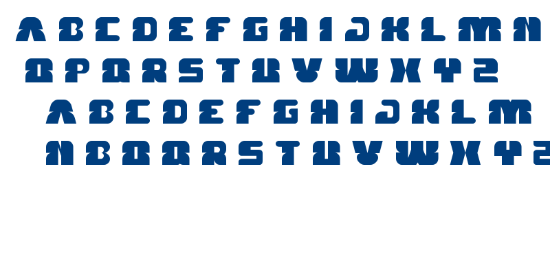 FOREST JUMP font
