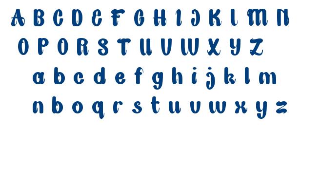 Great Job font
