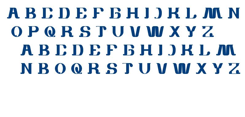 white sock font