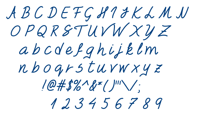 Foxes In Love font