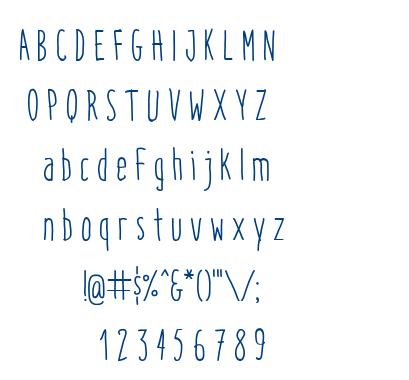 Italo font