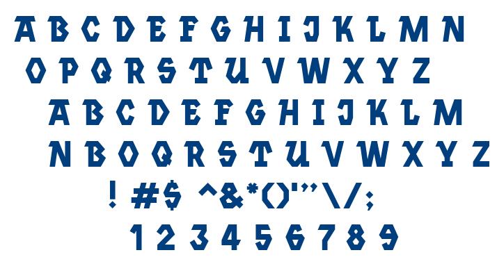 Jannsen font