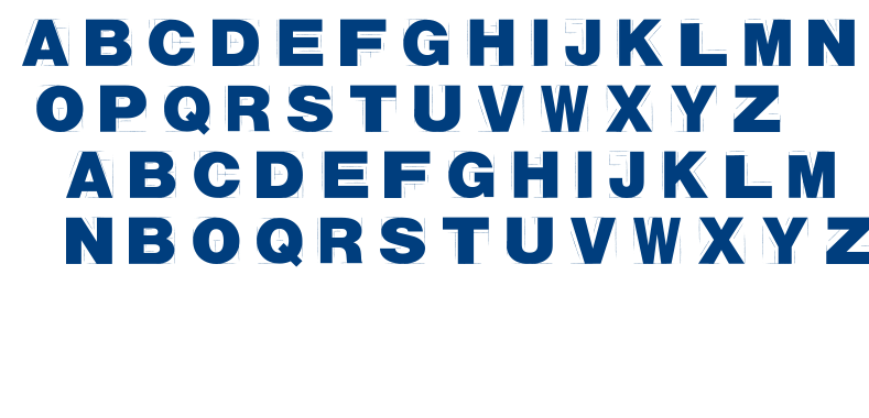 Tracion font