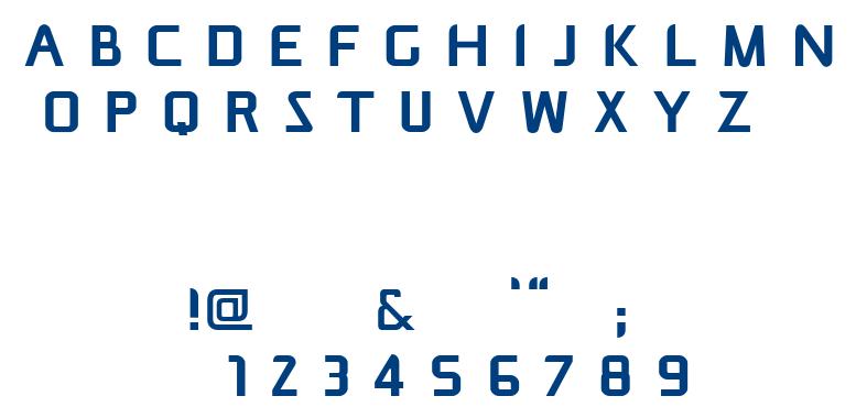 Mitigate font