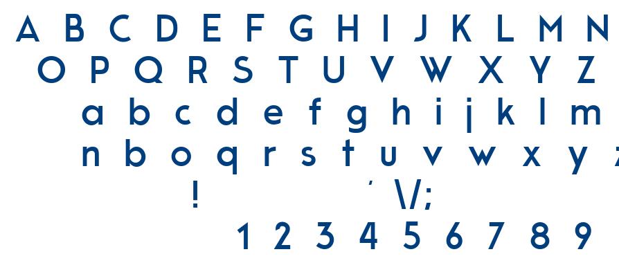 Modern Sans font