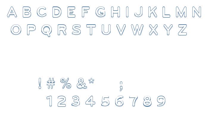UGO font