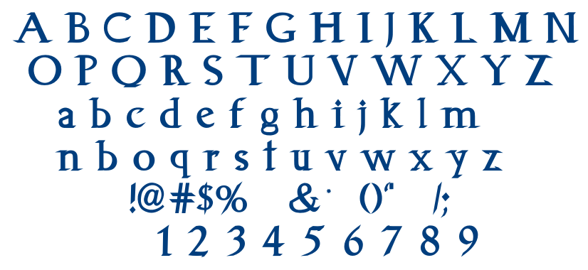 Animagus font