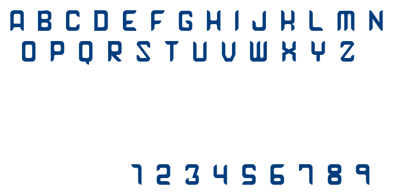 Arxel font