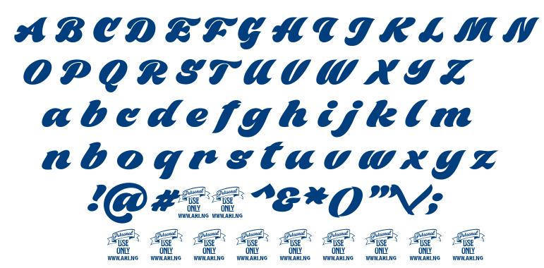 Black Fox font