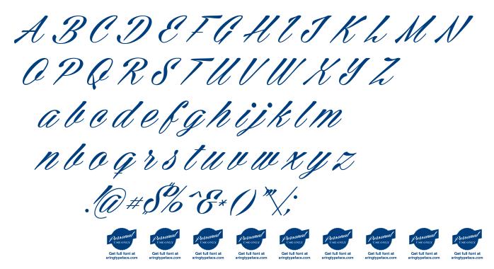 Cellos Script font