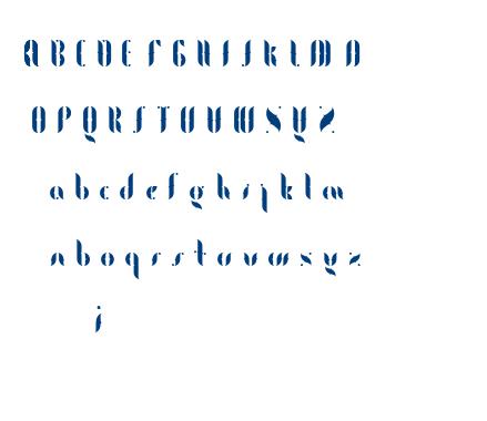 Fogtype font