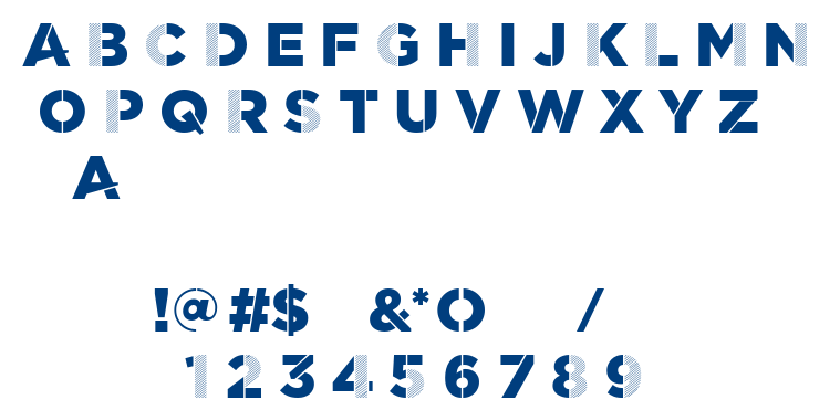 Scratch font