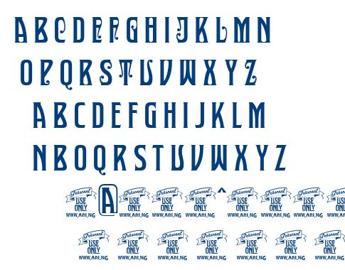 Sultan Cafe font
