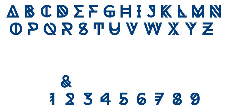 Tomahack font