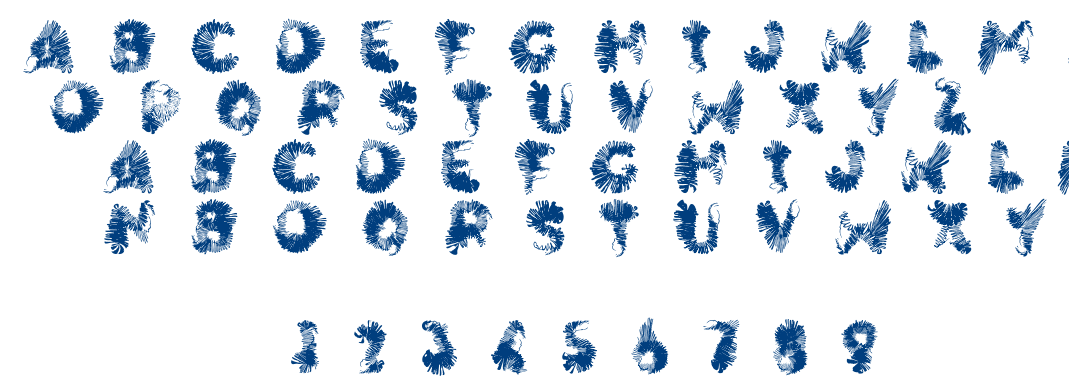 Wingwalker font