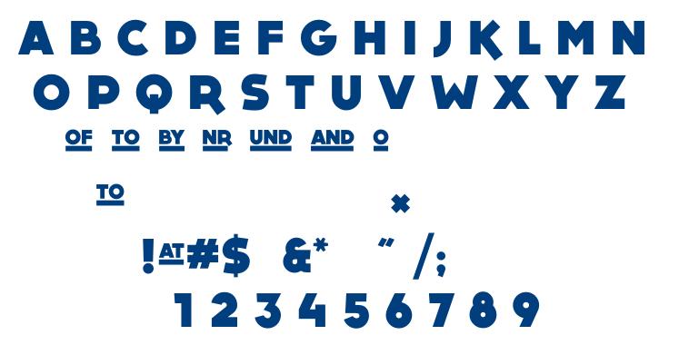 Dock11 font