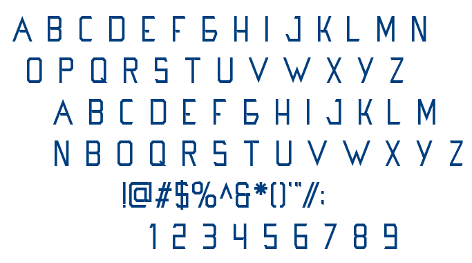 Hanoi font