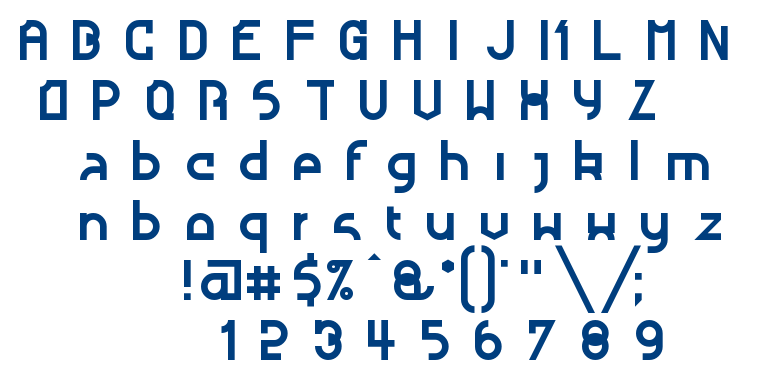 Nougatine font
