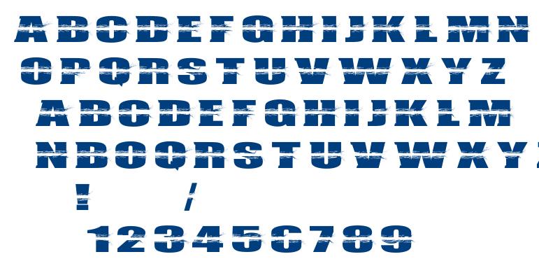 Bullet campus font