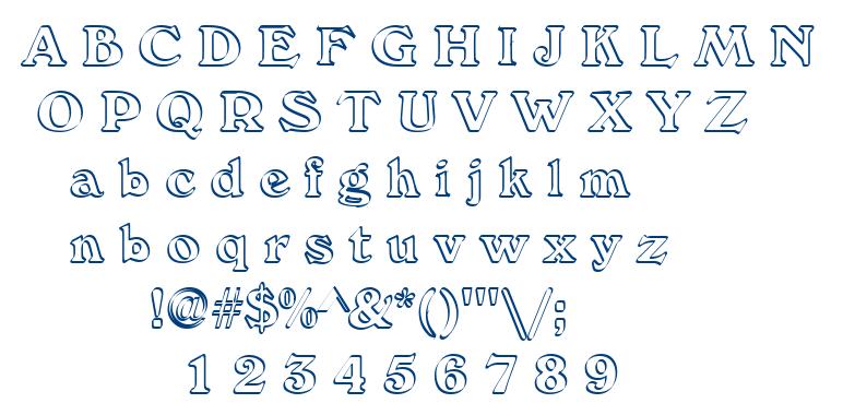 Calli Stroke font