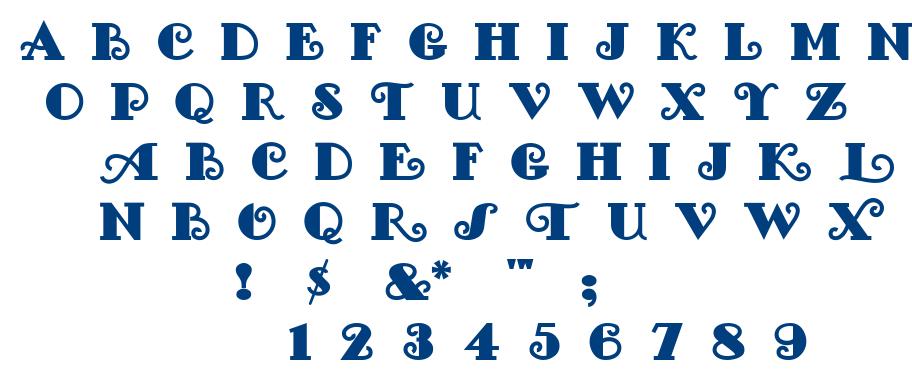 Fancypan font