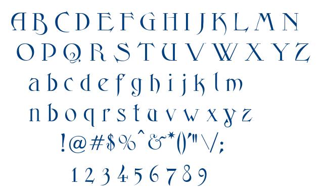 Fantasyone font