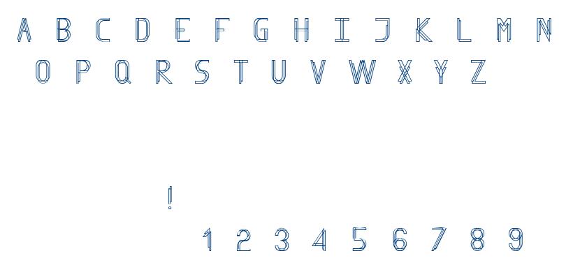 Finity font