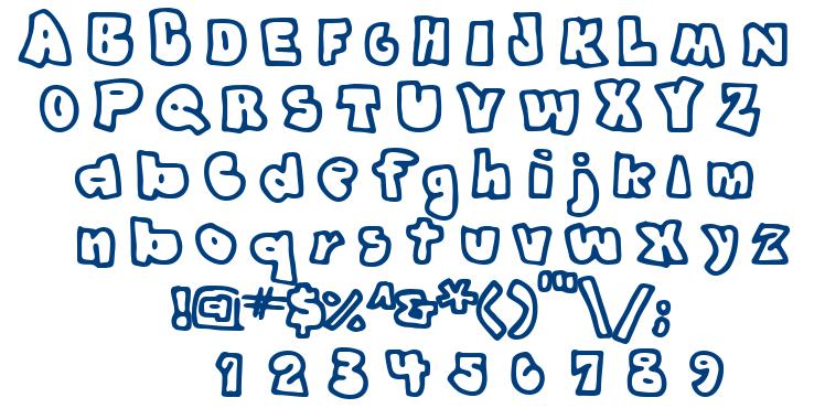 Graffit font