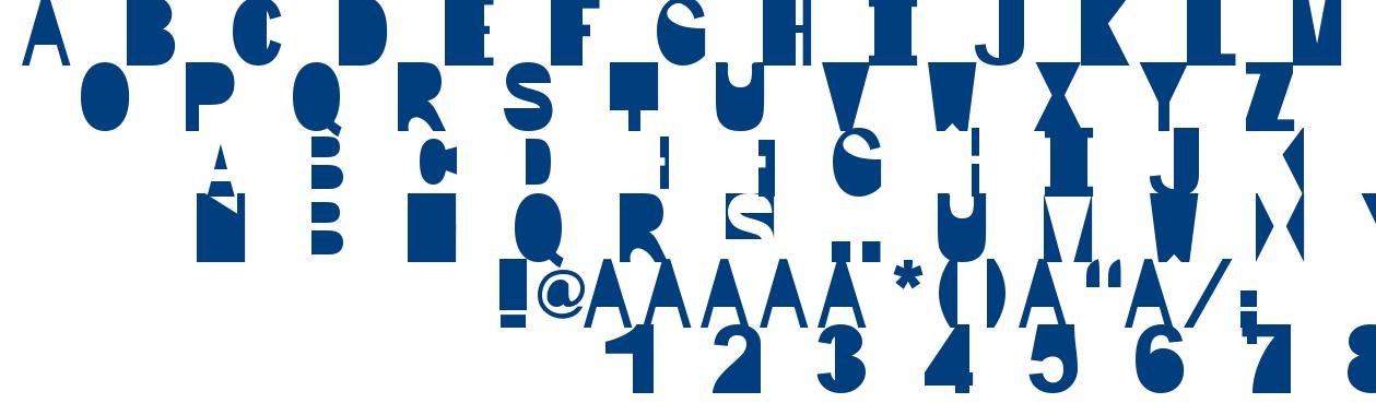 IP font