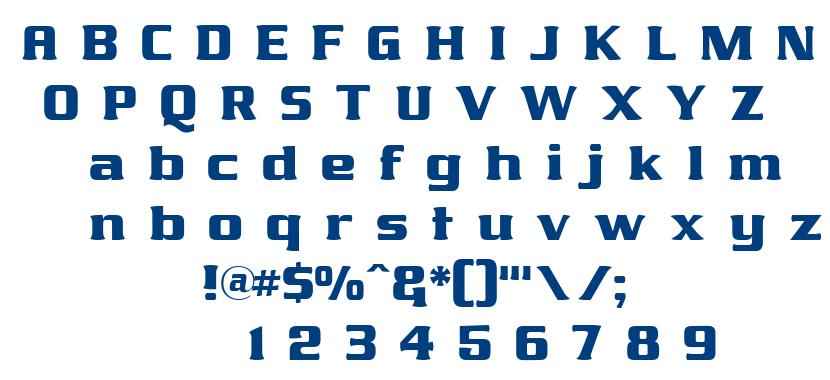 James811 tt font
