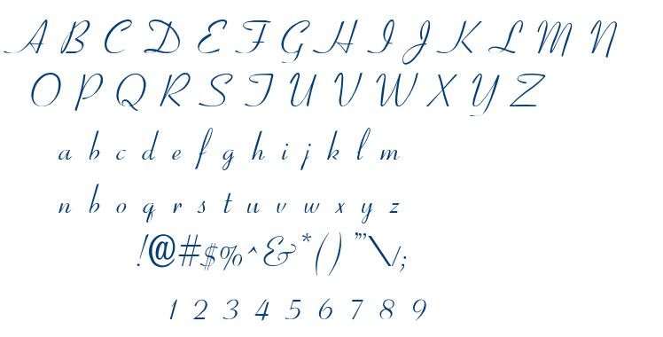 Ohio Script font