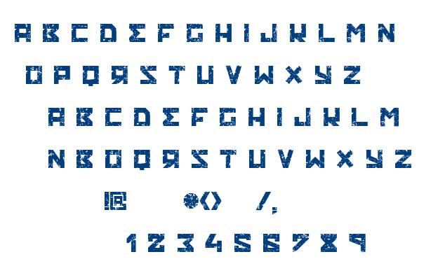 Ruskof font