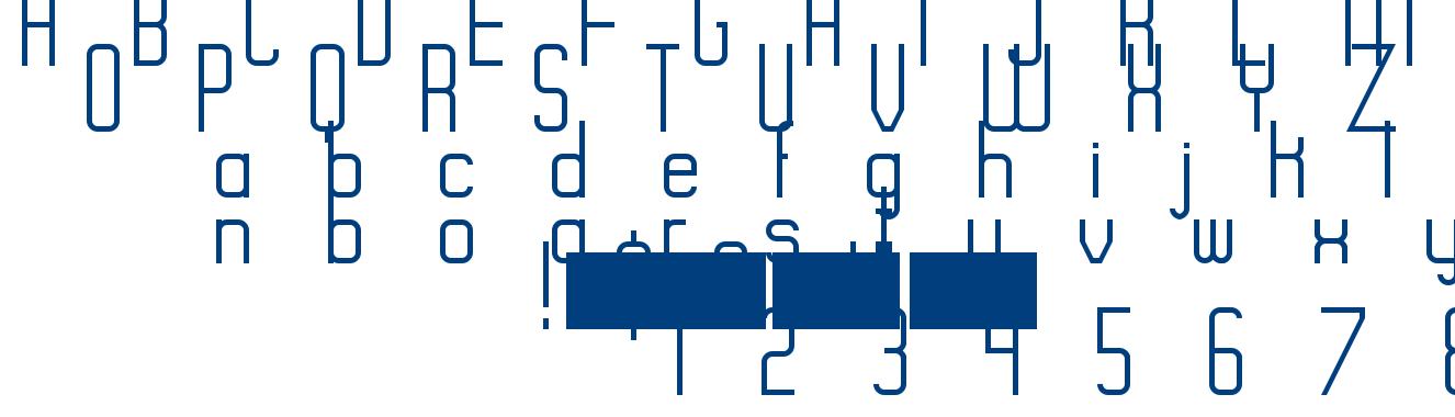 Rise font
