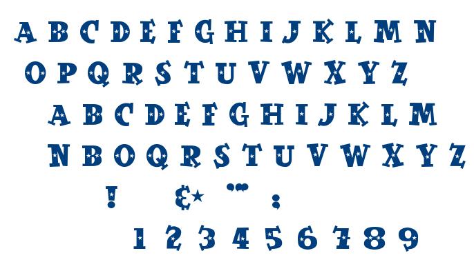 Spaceout font