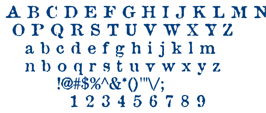Attic font