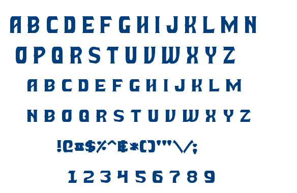 Battle beasts font
