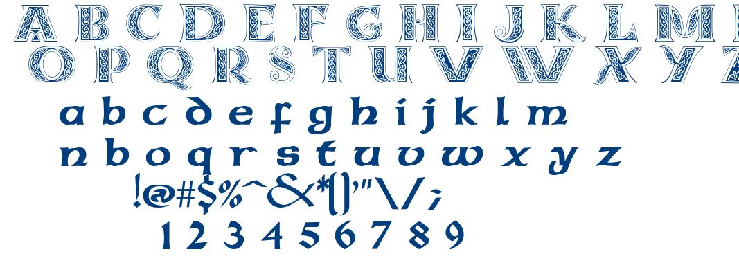 Celticmd font