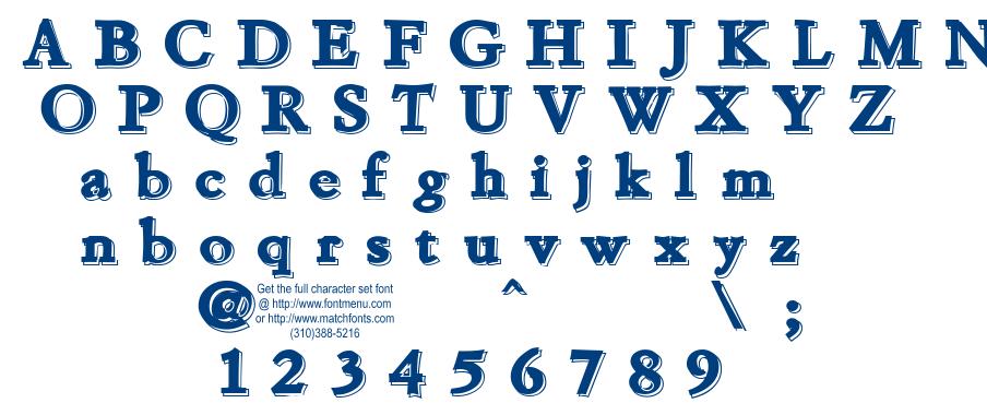 Chaprt font