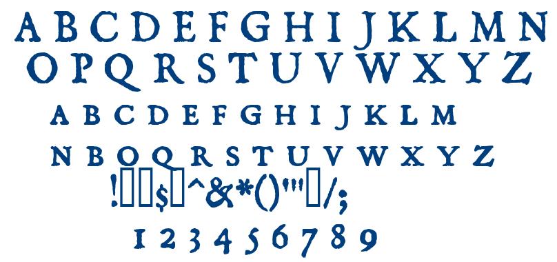 Domisc font