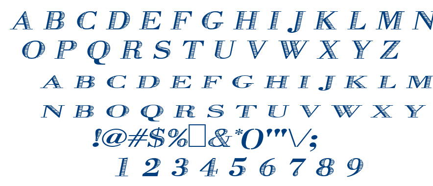 Graphiso font